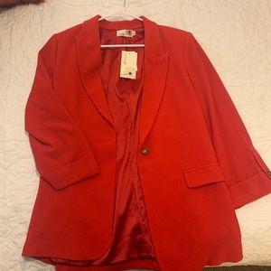NWT red blazer
